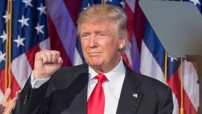 Donald Trump är USA:s näste president. Foto: NEWSDAY/TNS/ABACA/STELLA PICTURES