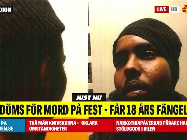 Haned Mahamed Abdullahi döms för mord på fest
