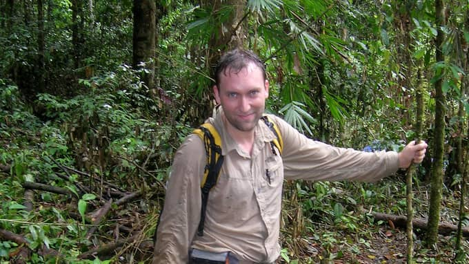 Olle Forshed, tropikskogsexpert på Världsnaturfonden WWF. Foto: Världsnaturfonden WWF