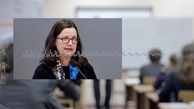 Anna Ekström: Stark beredskap att stänga skolorna