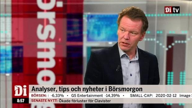 "Petersson om Elektas rapport: ""Rejält svagare"""
