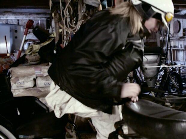 Matilda är världens första rullstolsburna travkusk