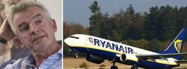 """Ryanair ber om ursäkt: """"Vi har ställt till det"""""""