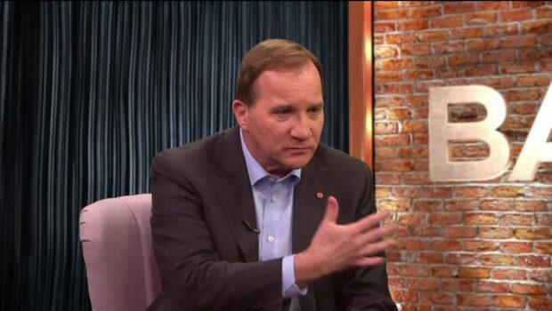 """Löfven har haft samtal med Kristersson på """"tu man hand"""""""