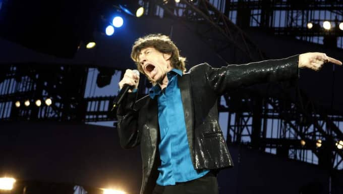Sista showen i Sverige? Mick Jagger och Rolling Stones spelade på Ullevi 2007. Foto: Jan Wiriden
