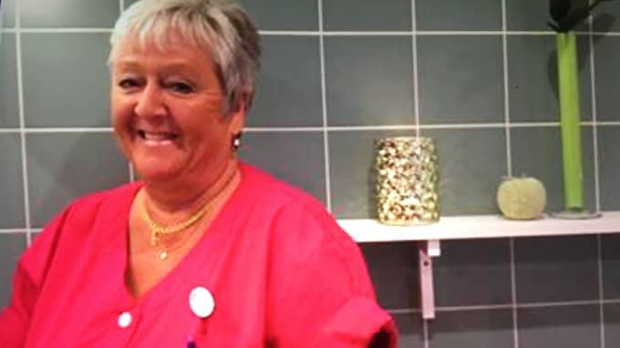 Britt-Marie Ahlström har öppnat ett spa på Brogården äldreboende i Lindome. Foto: Privat