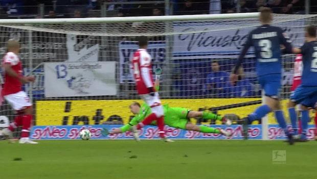 Hannover vann mot Freiburg i bundesliga