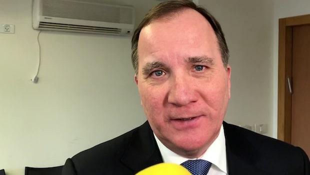 """Löfven: """"Absolut inte slutet för januariöverenskommelsen"""""""