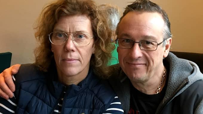 Paret Susanne och Jari Koivusaari driver den exklusiva klockbutiken i Skövde. Foto: PRIVAT