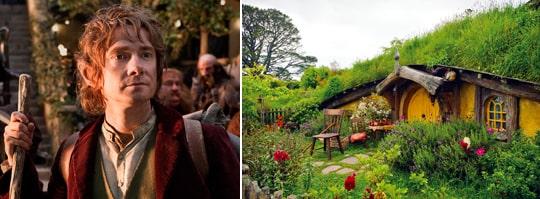 Söder om Auckland ligger det lilla samhället Matamata. Här, i det vackert grönskande och böljande landskapet, ligger filmernas Fylke (The Shire). Det är byn där hobbitarna bor.