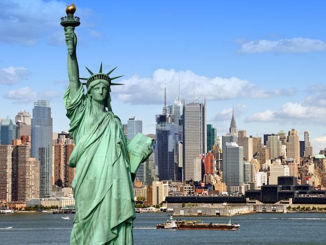 Enda turistattraktionen som kan konkurrera med Europas tyngsta – Frihetsgudinnan i New York.