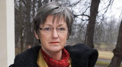 """MINISTERN TIGER. Cristina Husmark Pehrsson vägrar uttala sig om krisen kring sjukreglerna. """"Hon är upptagen med andra engagemang"""", säger hennes pressekreterare. Foto: Roger Vikström"""