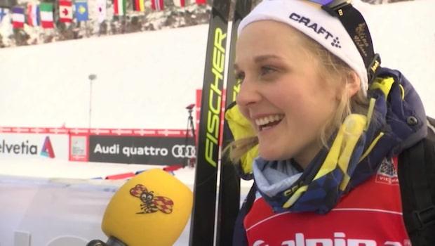 """Stina Nilsson efter nya sprintsegern: """"Drömbesked inför OS"""""""