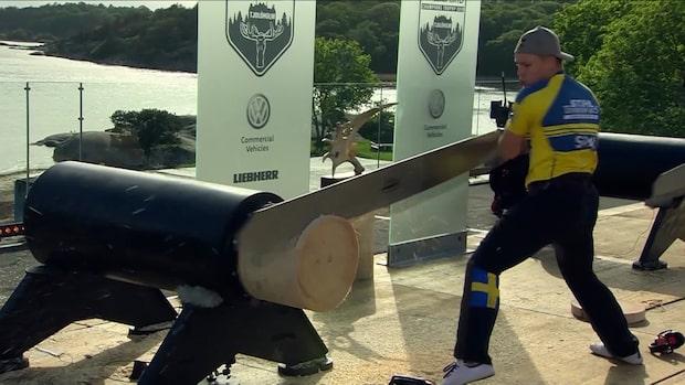 Ferry Svan klar för VM – med mammas hjälp