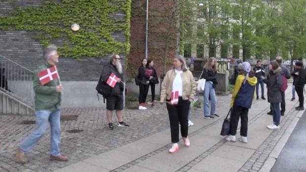 Danmark har börjat lätta på restriktionerna