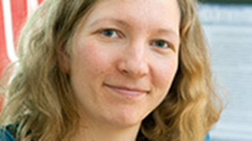 Hanna Landquist, doktorand i sjöfart och marin teknik på Chalmers. Foto: Chalmers