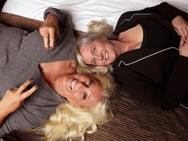 """Mia Parnevik och Annelie Engblom gör en intim podd ihop. """"Det är ett nytt forum. Ofta säger jag ja till saker för att jag är passionerad och glad. Jag springer i väg på en känsla."""""""