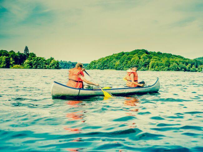 <span>Lite kanot och vildmarksliv är ett härligt sätt att roa sig på semestern.</span>