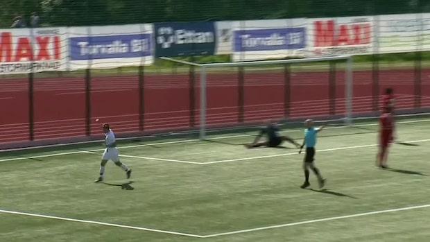 Målfest för Haninge - utklassar Team TG FF med 7-0