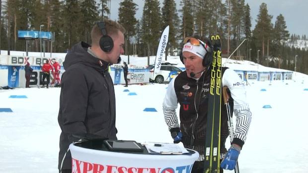 """Johan Häggström: """"Fan vad jobbigt det var"""""""