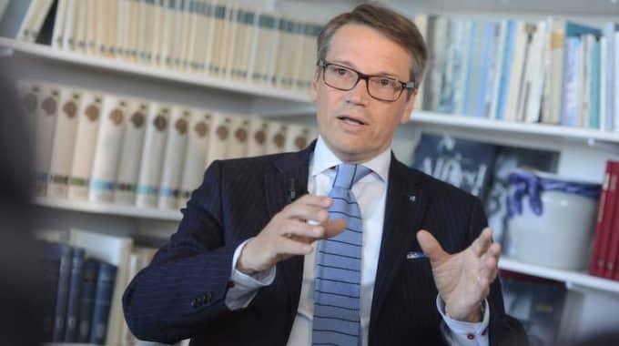 Göran Hägglund ogillar Expressens ledarsidas kritik mot privatisering. Foto: Robban Andersson