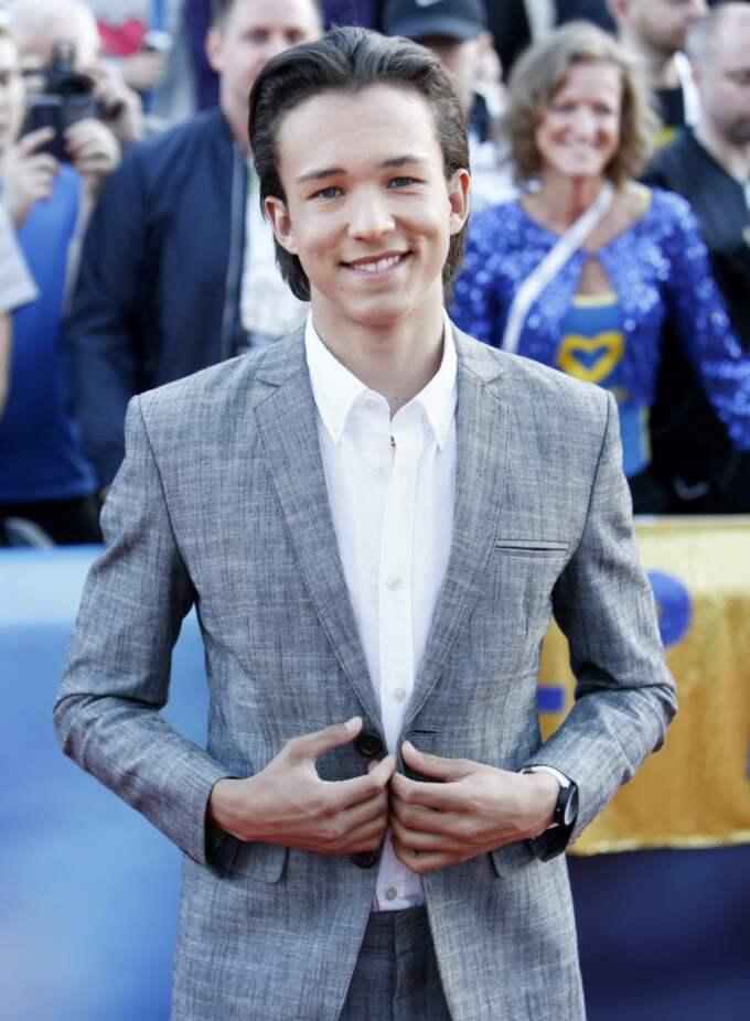 Frans är den yngste personen någonsin att bli nominerad till priset Årets Skåning. Foto: Patrik C Österberg / STELLA PICTURES