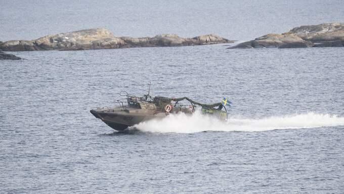 En annan båt av samma typ. Foto: FREDRIK SANDBERG