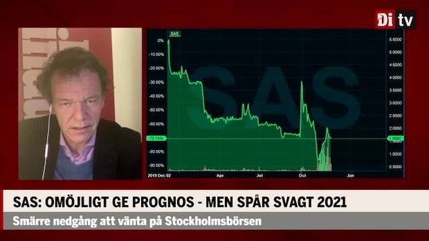 Ulf Petersson om SAS-rapporten: Svårt att se att aktien ska gå upp