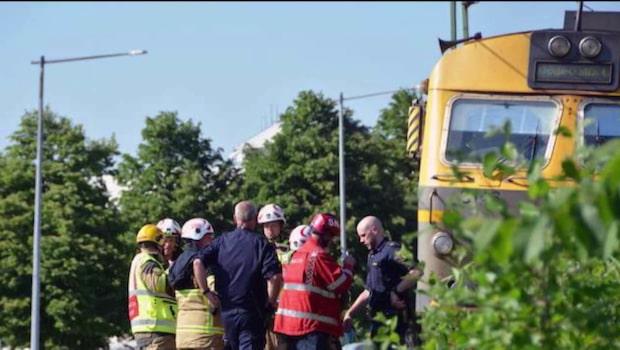 17-årig pojke död – blev påkörd av tåget