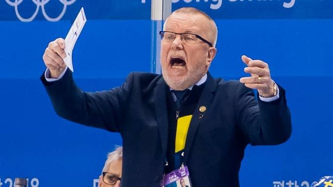 Förbundskapten Leif Boork. Foto: CARL SANDIN / BILDBYRÅN