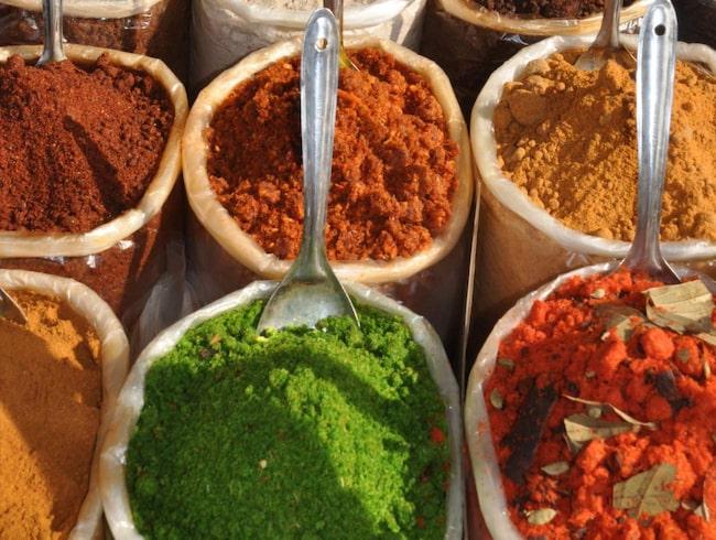<span>Indien har bästa maten för bästa priset.</span>