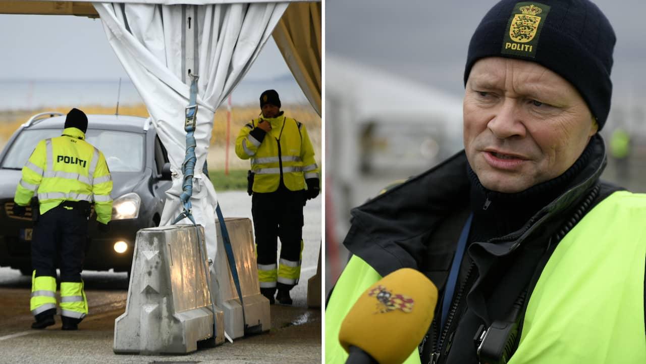Här börjar gränskontrollerna mellan Sverige och Danmark