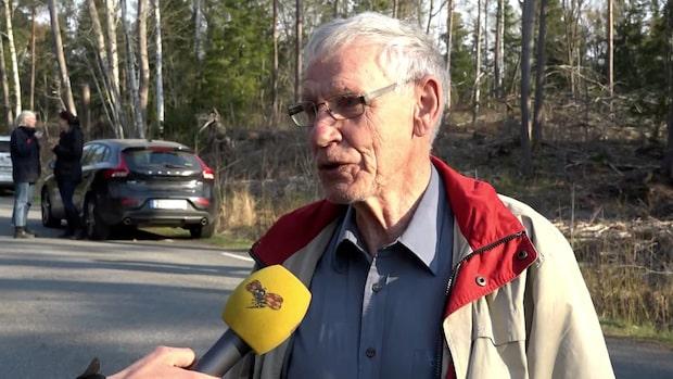 Roland tvingades evakuera när bränderna närmade sig