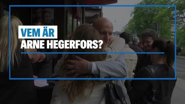 Vem är Arne Hegerfors?