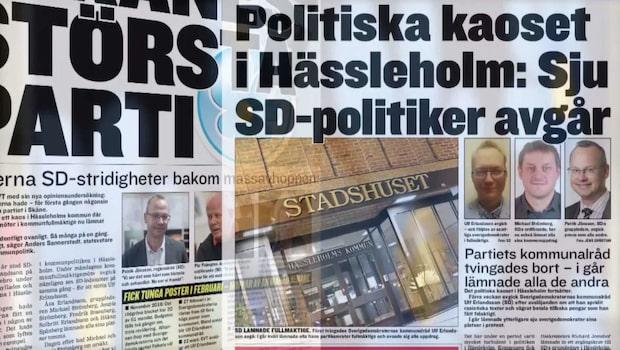 SD-bråken som plågar Åkesson
