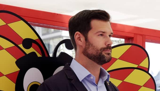 Johan Forssell. Foto: Cornelia Nordström