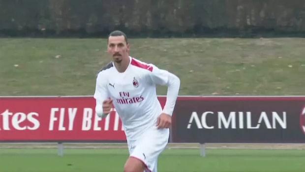 Zlatan skadad på träning – kan bli borta länge