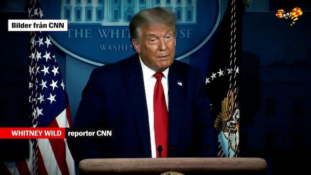 """Trump: """"Kommer inte att bli ny lockdown"""""""