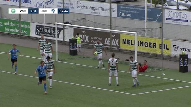 Höjdpunkter: Västerås-Halmstad