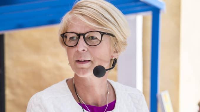 – En myndighet kommer inte hjälpa de här kvinnorna, säger Elisabeth Svantesson, arbetsmarknadspolitisk talesperson för M. Foto: Christian Örnberg