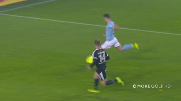 Antonsson gör 1-0 – efter Brorssons geniala passning