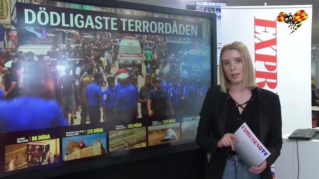 Fem dödligaste terrordåden på 2000-talet