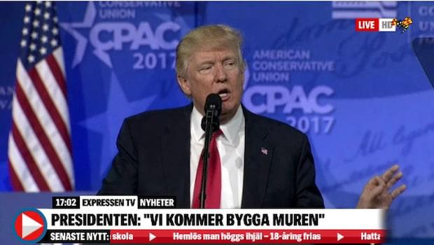 Se hela Trumps tal från CPAC-konferensen