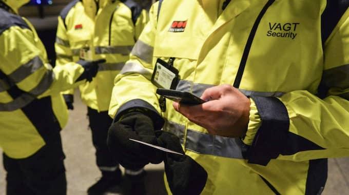 Id-kontroller. Foto: Johan Nilsson / Tt