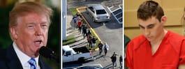 Trump: Lärare med vapen kan stoppa skolskjutningar