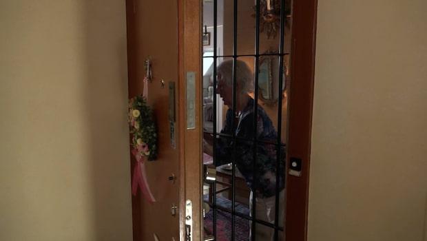 91-åriga Greta rånad i sitt eget hem