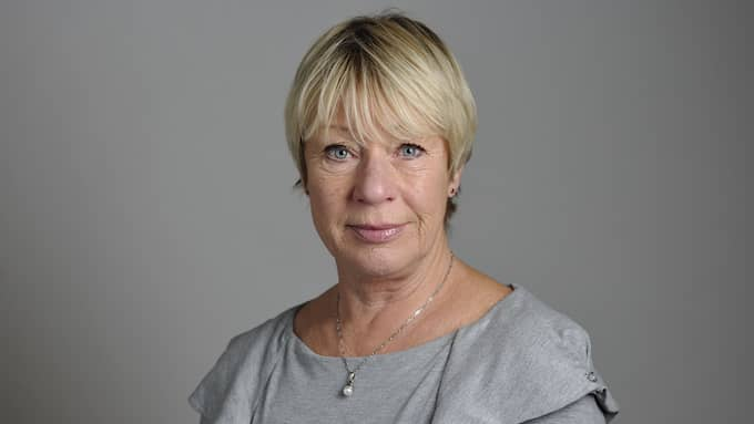Riksdagsledamoten Wiwi-Anne Johansson lämnar Vänsterpartiets riksdagsgrupp. Foto: HENRIK MONTGOMERY / TT / TT NYHETSBYRÅN