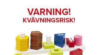 """Leksaken """"Babblarna"""" är falig på grund av fabriksfel och kallas nu tillbaka. Foto: Kids Concept"""