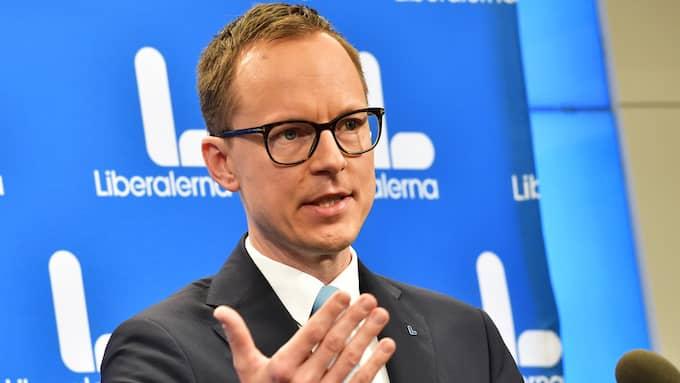 Mats Persson (L), ekonomisk-politisk talesperson för Liberalerna. Foto: JONAS EKSTRÖMER/TT