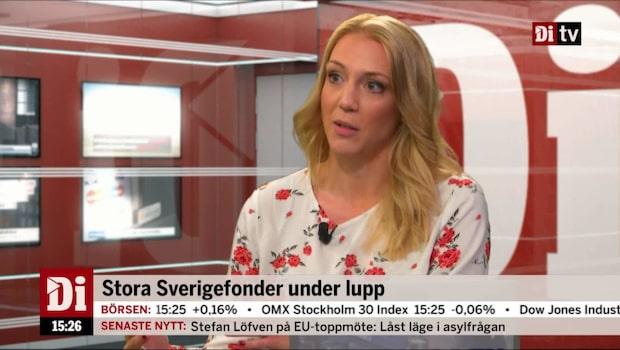 Dina Pengars reporter Frida Bratt synar stora Sverigefonder
